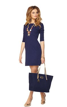 Cassie Boatneck T-Shirt Dress