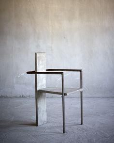 Jonas Bohlin - Concrete Chair