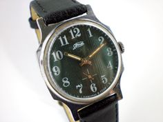 Vintage ZIM mechanical watch from Soviet/Ussr. $27.00, via Etsy.