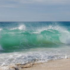 seascape big lovely waves blue and green whit white Ocean Scenes, Beach Scenes, Sea And Ocean, Ocean Beach, Beautiful Ocean, Beautiful Beaches, Ocean Photography, Am Meer, Sea Waves
