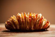 Cro'K'mou, blog culinaire: Pommes de terre à la Suèdoise - Hasselback