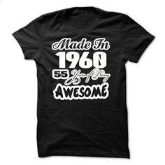 Awesome - 1960 - Made In - JDZ1 - teeshirt dress #teeshirt #T-Shirts