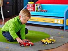 Racetrack Play Mat