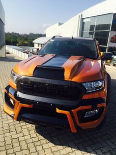 4x4 MegaWorld Nelspruit Raptor kit on the new Ford Ranger