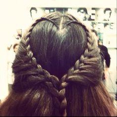 My heartfull hair