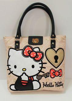 Loungefly Hello Kitty Key to My Heart Tote | eBay