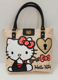 Loungefly Hello Kitty Key to My Heart Tote | eBay