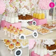 {Party of 5} Pink Birthday Brunch, Aqua & Lace, SpongeBob, Little Monster, & Daisy Brunch