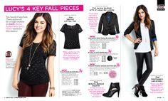 You heard it here first: These picks will be in high rotation in mark. Brand Ambassador Lucy Hale's wardrobe this season!