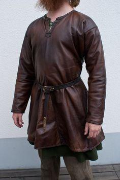 viking leather tunic - Google zoeken