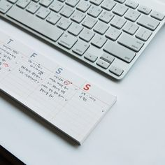 Sticky-Note Desk Calendar, $10