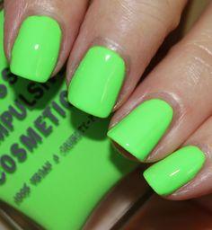 Obsessive Compulsive Cosmetics Nail Lacquer Deven Green