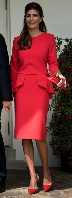 Juliana appeared to be channeling Kate Middleton, as the Duchess of Cambridge has worn a s...
