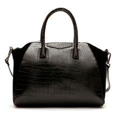 Alma Bag leather handbag - Black | Coco Kitten