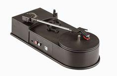 rogeriodemetrio.com: Mini USB Vinyl Turntable - Audio Player