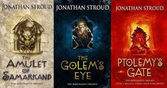 The Bartimaeus Trilogy, by Jonathan Stroud  13 fantasy series