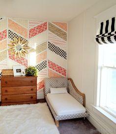 Twins' Room Transformation! {DIY Roman Shade Tutorial} by Reality Daydream