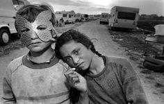 Gyspy Camp, Barcelona, Spain, 1987- mary ellen mark-