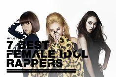 7 Best Female Idol Rappers | http://www.allkpop.com/article/2014/07/7-best-female-idol-rappers