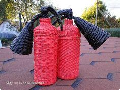 Поделка изделие Плетение сентябрьские плетёночки Бумага газетная Кружево Трубочки бумажные фото 21