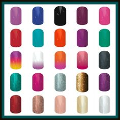 Like a plainer look. Not so much for the fancy designs? We've got you covered there,too. Check out the New Ombres,Solids and Glitter wraps. Lasts up to 2 weeks on your fingernails and 4-6 wks on your toenails. http://jamminnailstyles4u.jamberrynails.net/category/sparkling-solids