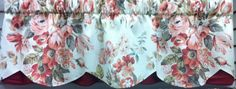 "Medley Blooms Petticoat Valance 52""w starting @ $49.99.To Order Call toll-free 877-722-1100"