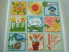 SUO Spring Shadowbox- First Upload by Joyce Lowe - Cards and Paper Crafts at Splitcoaststampers