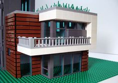 If It's Hip, It's Here (Archives): Lego® Replicas Of Eames, Corbusier and Miche. If It's Hip, It's Here (Archives): Lego® Replicas Of Eames, Corbusier and Michelle Kaufmann Homes Lego Design, Lego Building, Building A House, Building Ideas, Lego Watch, Lego Furniture, Eames, Lego Boards, Lego Modular