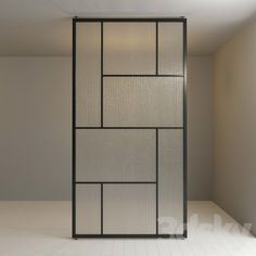 models: Other decorative objects - Glass partition 72 Glass Partition Designs, Glass Partition Wall, Living Room Partition Design, Glass Design, Glass Office Partitions, Industrial Office Design, Window Grill Design, Sliding Glass Door, Decorative Objects