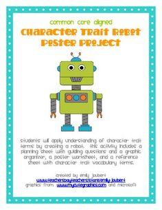 Character Trait Robot.