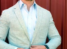 J.C.F. Cotton/Linen Horiz. Stripe | The Best Looking Affordable Blazers of Spring 2015 on Dappered.com