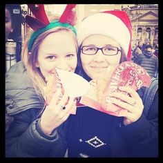 Getting into the holiday spirit early with BeaverTails pastries Instagram photo by @ericaapproved (Erica Lynn)