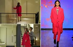 Jun Ji-hyun (Gianna) / Cheon Song-yi fashion DKNY 2013 F/W