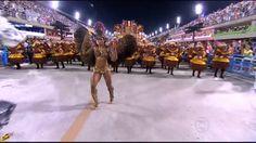 Musa da tijuca, Lílian Duarte é uma das mais belas do carnaval (Foto: Reprodução/TV Globo)
