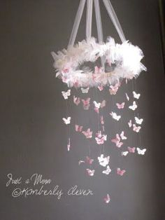 Butterfly Mobile. Beautiful and simple to make.