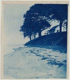 House, Trees and Beach/ Arthur Wesley Dow