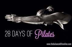 Real College Student of Atlanta: 28 Days of Pilates {I'm doing it!}