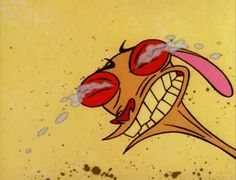The Ren & Stimpy Show Cartoon Goodies and videos Cartoon Memes, Cartoon Tv, Cartoon Shows, Cartoon Characters, The Ren, Up Animation, Nickelodeon Cartoons, 90s Nostalgia, Facial Expressions