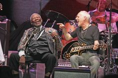 BB King and Peter Frampton perform at Trump Taj Mahal in Atlantic City, New Jersey on August 10th, 2013.
