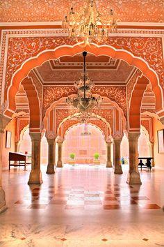 Fairy Tale Palace in Delhi, India