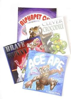 Brave Bunny, Thomas Findley, 14.95, Clever Crocodile, 14.95, Ace Ape 14.95, Alphapet City, 15.95  Juice Gift Guide 2011