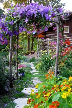 A cottage garden can incorporate quirky or funny ideas, like painted signs, that would not go with a more formal garden concept. The cottage garden projects garden cottage Beautiful Cottage Style Garden Ideas for a Charming Outdoor Space