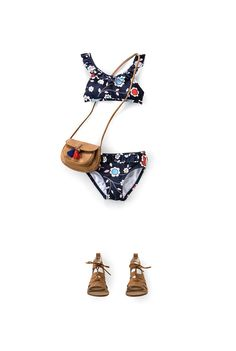 fcb2291b84 Girl's Clothing & Clothes - Country Road Online - Folk Floral Bikini. E Ade  · Cute swimsuits