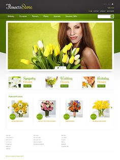 Flowers Store PrestaShop Theme #website http://www.templatemonster.com/prestashop-themes/44922.html?utm_source=pinterest&utm_medium=timeline&utm_campaign=flow