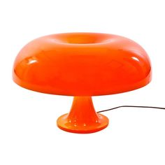 Artemide - Nesso Table Lamp - orange/plastics/diffuser orange/H 34cm/Ø 54cm