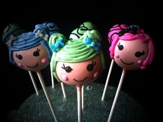 Lalaloopsy Cake Pops | I did these for a little girl's Lalal… | Flickr