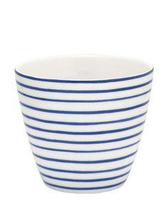 Sally Latte Cup indigo
