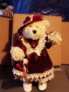 Collectors Vintage Treasures Bear Doll by Dandee International Limited