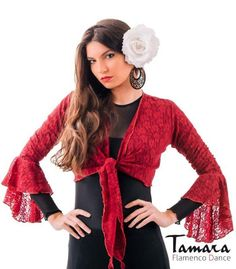 maillots bodys y tops de flamenco de mujer - - Chupita Linares - Encaje