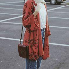 Hijab Casual, Hijab Style, Hijab Chic, Hijab Outfit, Muslim Fashion, Modest Fashion, Fashion Outfits, Hijab Fashion Inspiration, Inspiration Mode